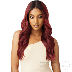 Outre Synthetic Melted Hairline Lace Front Wig - NATALIA