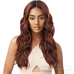 Outre Synthetic HD Lace Front Wig - GEORGETTE