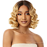 Outre Synthetic I-Part Swiss Lace Front Wig - CILLA