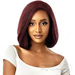 Outre Synthetic 2 in 1 Style Swiss Lace Front Wig - SARITA