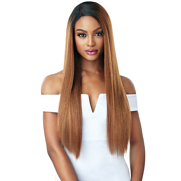 Outre &Play Human Hair Optimix Lace Front Wig - SAGE