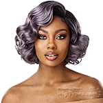Outre Synthetic L-Part Swiss Lace Front Wig - AVERY