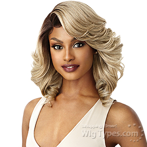 Outre Synthetic L-Part Swiss Lace Front Wig - BRANDI