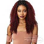 Outre Synthetic I-Part Swiss Lace Front Wig - MIRENA