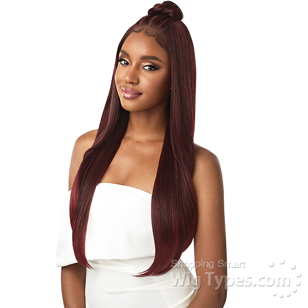 Outre Perfect Hairline Synthetic Lace Wig Iman 13x6 Lace Frontal