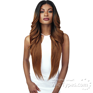 Outre Swiss U Synthetic Hair Lace Front Wig -  KENDALL