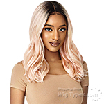 Outre Synthetic I-Part Swiss Lace Front Wig - RAMONA