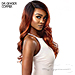 Outre Color Bomb Synthetic Swiss Lace Front Wig - REINA