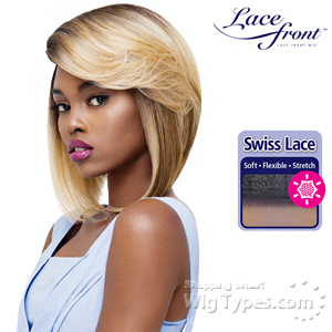Outre Synthetic L-Part Swiss Lace Front Wig - SAMIE (futura)