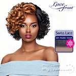 Outre Synthetic L-Part Swiss Lace Front Wig - SPICE (futura)