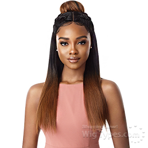 Outre Synthetic Swiss X Lace Front Wig - TAVIA YAKI