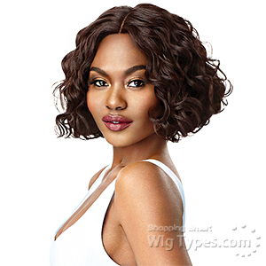 Outre Synthetic I-Part Swiss Lace Front Wig - VEDA