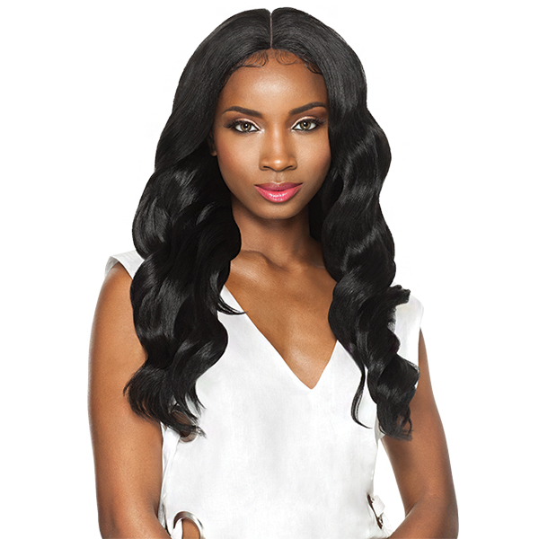 Outre Synthetic Swiss X Lace Front Wig - VIXEN LOOSE WAVE (4 Way Part Cap Construction)