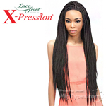 Outre Synthetic Lace Front Wig - X Pression Box Braid Small