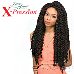 Outre Synthetic Lace Front Wig - X Pression Cuevana Twist Out