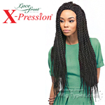 Outre Synthetic Lace Front Wig - X Pression Reggae Twist Large