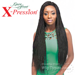 Outre Synthetic Lace Front Wig - X Pression Reggae Twist Small