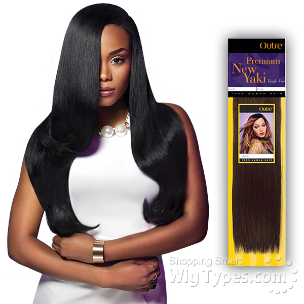 Outre 100 Human Hair Weaving Premium New Yaki 10 Wigtypes