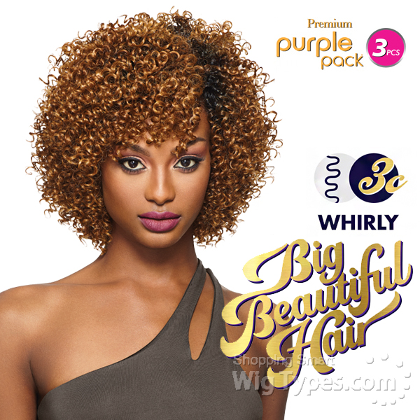 Outre Human Hair Weave Premium Purple Pack Yaki Image