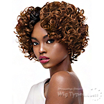 Outre Purple Pack Salon Set Curls Human Hair Blend Weaving -  SMALL ROLLER SET