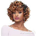 Outre Purple Pack Salon Set Curls Human Hair Blend Weaving -  LARGE ROLLER SET 3PCS