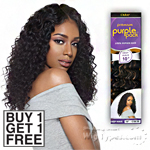 Outre 100% Human Hair Weave - PURPLE PACK DEEP WAVE (Buy 1 Get 1 FREE)