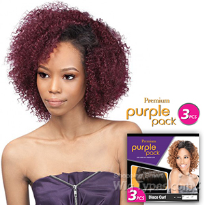 Outre Purple Pack Human Hair Blend Weaving - BABY SOFT 3 PCS