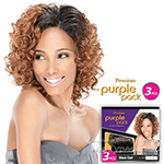 Outre Purple Pack Human Hair Blend Weaving - DISCO CURL 3 PCS