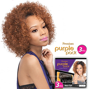 Outre Purple Pack Human Hair Blend Weaving - FRENCH KISS 3 PCS