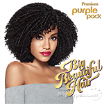 Outre Purple Pack Human Hair Blend Weaving - SPIRALLY