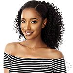 Outre Synthetic Big Beautiful Hair Drawstring Ponytail -  3B BOUNCY CURLS 18