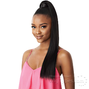 Outre Synthetic Pretty Quick Wrap Pony - SLEEK STRAIGHT 24