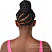 Outre Synthetic Pretty Quick Bun - ZORA BRAID MEDIUM