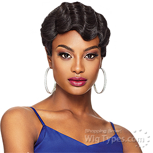 Outre Synthetic Full Cap Extreme Side Part Wig Quick Weave Complete Cap Lace Plus - BETTY (futura)