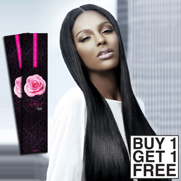 Outre 100 Remy Hair Weaving Rose Remi Yaki Buy 1 Get 1 Free