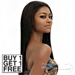 Outre Human Hair Blend Weave - SOL YAKI 8 (Buy 1 Get 1 Free)