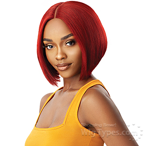 Outre The Daily Wig Synthetic Hair Lace Part Wig - BUMPED BOB 10