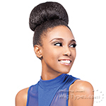 Outre Synthetic Timeless Bun - HEATHER BUN (Dome)