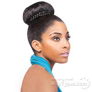 Outre Synthetic Timeless Bun - ORCHID BUN (Dome)