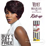 Outre Velvet 100% Remy Human Hair Weaving - VELVET BRAZILIAN ROLL UP 36PCS (Buy 1 Get 1 FREE)