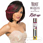 Outre Velvet 100% Remy Human Hair Weaving - VELVET BRAZILIAN ROLL UP 8