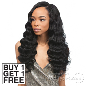 Outre Velvet 100% Remy Human Hair Weaving - VELVET BRAZILIAN BEACH WAVE 14 (Buy 1 Get 1 FREE)
