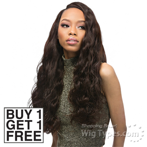 Outre Velvet 100% Remy Human Hair Weaving - VELVET BRAZILIAN BODY WAVE 12 (Buy 1 Get 1 FREE)