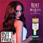 Outre Velvet 100% Remy Human Hair Weaving - VELVET BRAZILIAN NATURAL YAKI (Buy 1 Get 1 FREE)