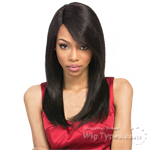 Outre 100% Remy Human Hair Lace Front Wig - VELVET YAKI 18