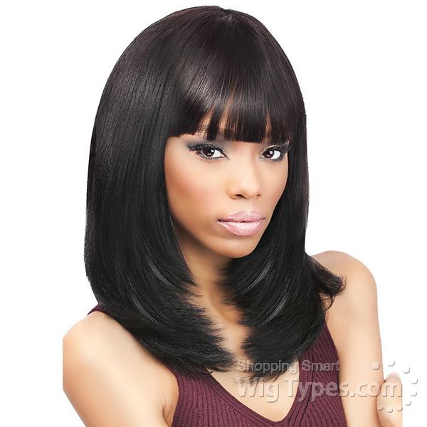 Outre Remy Human Hair Weave Velvet Brazilian Natural Yaki