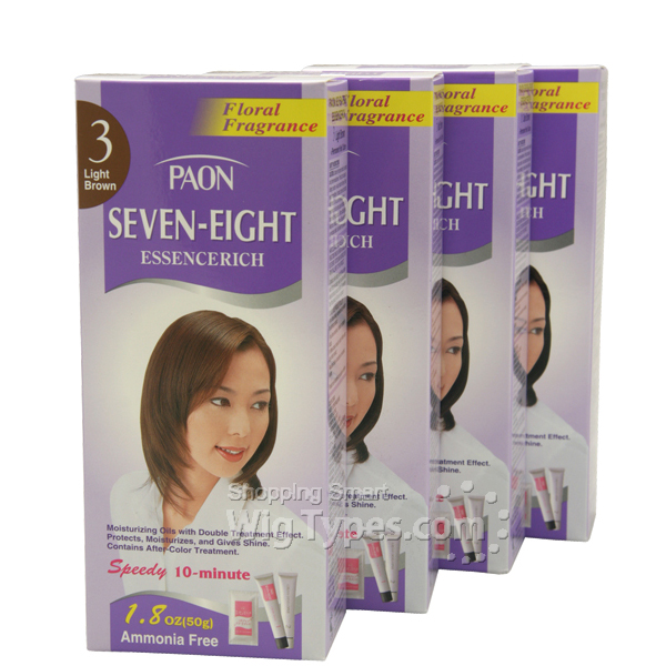 Paon Seven Eight Essence Rich Hair Color Wigtypes