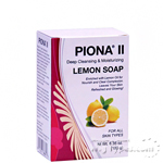 Piona II Deep Cleansing Moisturizing Lemon Soap 6.35oz