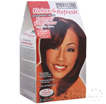 Profectiv Anti-Damage No-Lye Relaxer Plus Color KIT - Cherry Fusion