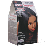 Profectiv Anti-Damage No-Lye Relaxer Plus Color KIT - Silky Black